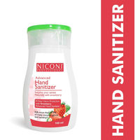 Niconi Advanced Hand Sanitizer With 8 Hour Germ Protection - Strawberry
