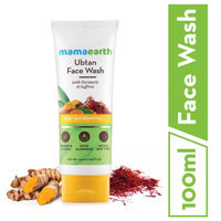 Mamaearth Ubtan Face Wash With Turmeric & Saffron For Tan Removal 100ml