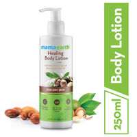 Mamaearth Healing Body Lotion With Moroccan Argan & Macadamia Nut Oil