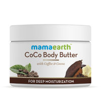 Mamaearth CoCo Body Butter For Dry Skin With Coffee & Cocoa For Deep Moisturization