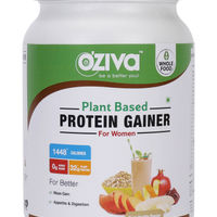 Oziva Plant Based Coco Vanilla Flavour Protein and Weight Gainer for Women