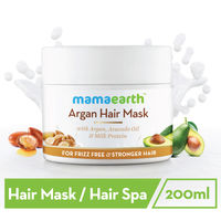 Mamaearth Argan Hair Mask With Argan, Avocado Oil& Milk Protein