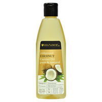 Soulflower Coldpressed Coconut Pure Natural Carrier Oil