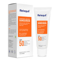 Reequil Oxybenzone And Omc Free Sunscreen SPF 50