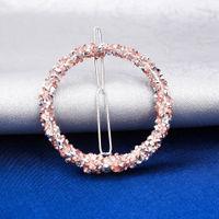 Ferosh Caricia Gleaming Circle Hairpin