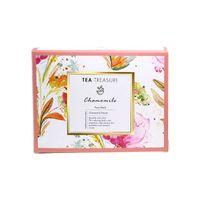 Tea Treasure Pure Chamomile Tea 18 Pyramid Tea Bags