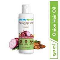 Mamaearth Onion Oil For Hair Regrowth & Fall Control With Redensyl
