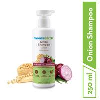Mamaearth Onion Hair Fall Control Shampoo For Hair With onion & Plant Keratin