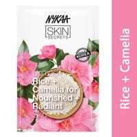 Nykaa Skin Secrets Mask Rice + Camelia Sheet Mask