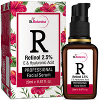 St.Botanica Retinol 2.5%  Vitamin E & Hyaluronic Acid Professional Facial Serum