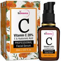 St.Botanica Vitamin C 20%  Vitamin E & Hyaluronic Acid Facial Serum