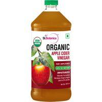 St.Botanica USDA Organic Apple Cider Vinegar - Raw, Unfiltered With Mother Vinegar