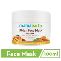 Mamaearth Ubtan Face Pack Mask With Saffron, Turmeric & Apricot Oil