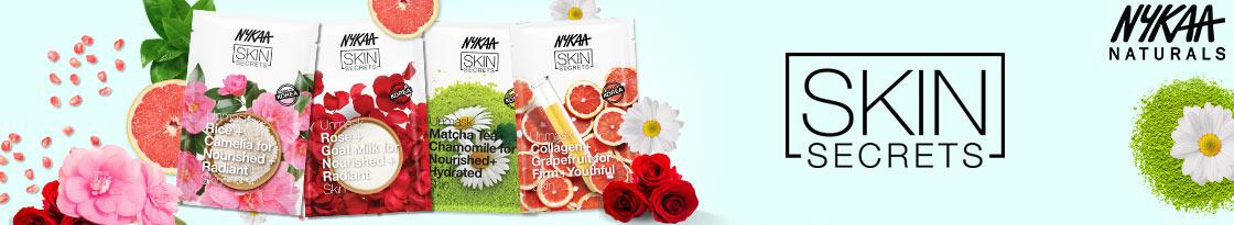 Buy 5 & Get 5 Nykaa Skin Secrets Sheet Mask